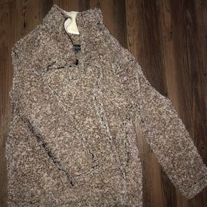 Tops - Sherpa pullover